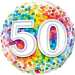 Happy 50th Birthday Balloon