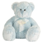 Small Blue Teddy (approx 13cm)